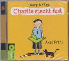 AXEL PRAHL Charlie Steckt Fest Kinder CD Hilary McKay  * NEU * RAR
