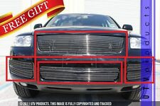 GTG 2003 - 2007 Volkswagen Touareg 7PC Polished Combo Billet Grille Grill Kit
