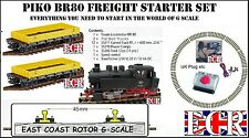 Piko Br80 G Scale Electric Track & NQD Starter Set LGB Bachmann Compatible