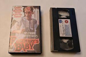 Rosemary's Baby VHS Ex-Rental Pre Cert CIC Mia Farrow