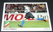 PAGLIUCA SAMP ITALIA FOOTBALL CARD UPPER DECK USA 94 PANINI 1994 WM94