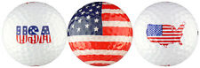 USA Flag Golf Ball Gift Set