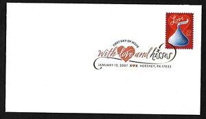 #4122 39c Love Kisses - Digital Color Postmark FDC Hershey, PA