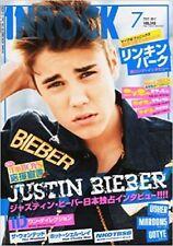 INROCK Jul 2012 7 Japan Music Magazine Justin Bieber LINKIN PARK