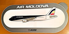 AIR MOLDOVA, A320, Sticker, Aufkleber, High Quality, neu/new, TOP & SELTEN !!!