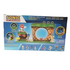 Green Hill Zone Sonic The Hedgehog 10 Piece Playset Figure Included Go SEGA 60th