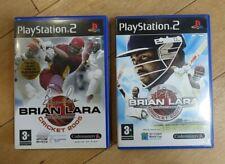 PS2 Brian Lara International Cricket Bundle 2005 + 2007 Playstation 2 Games