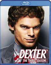 NEW  3BLU RAY SET -Dexter: The Complete THIRD Season -Michael C. Hall, Julia Sti