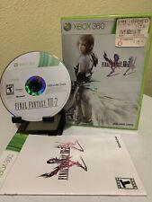 Final Fantasy XIII-2 (Microsoft Xbox 360, 2012) Complete CIB