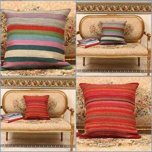 Cushion Covers handmade on handloom Modern style , Christmas gift