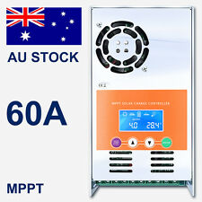 60A Solar Charge Controller MPPT For DC 12V 24V 36V 48V Auto Battery Regulator