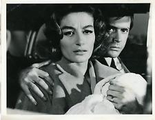 """Cinéma, """"Unexpected"""", Anouk Aimée, Thomas Milian  Vintage silver print Tirage"""