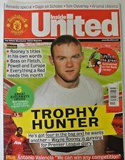 All'interno United. la rivista ufficiale Manchester United. emissione 244. NOVEMBRE 2012