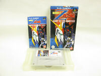 Super Famicom Mobile Suit Z GUNDAM Away To the Newtype Ref/ccc Nintendo sf