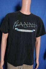Vintage 90s Yanni World Tour faded black souvenir t shirt M