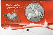 2012 Canada $20 Coin Fine Silver 99.99 Happy Holidays with Folder Uncirculated