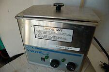 VWR 75HT Ultrasonic Cleaner  Tested water bath small  laboratory sonic aquasonic