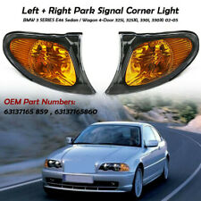 2x Corner Marker Parking Light Turn Signal For BMW 3 Series E46 02-05 325i 325xi