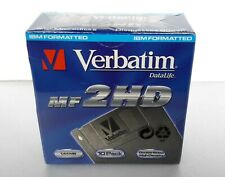 "Verbatim DataLife MF 2HD 1,44MB 3,5"" Floppy MicroDisks (10 Pack) NEW SEALED"