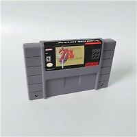 The Legend of Zelda Game 16 bit Cartridge Console US Version Nintendo SNES