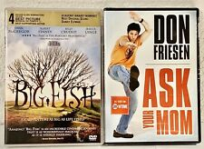 Big Fish Dvd & Don Friesen Ask Your Mom