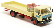 Herpa - MB Lk LN2 à Plateau Camion Transport Construction Felbermayr avec