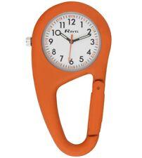 nurse doctor clip on carabiner watch hiker paramedic chef orange  Ravel F165