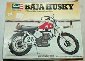 RARE Revell 1976 BAJA HUSKY HUSQVARNA DESERT RACER MOTORCYCLE MODEL KIT # H-1511