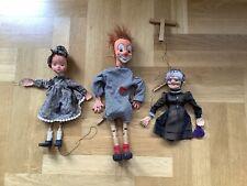 Alte Marionetten , Kopf Handarbeit 70er Jahre