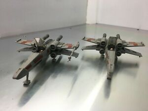 Star Wars 1995 X WING FIGHTETRS (pair)