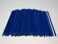 """100 MICRO KNEX BLUE 5.4"""" RODS Mini K'nex Parts / Pieces Lot"""
