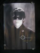 "Roy Orbison ""Mystery Girl"" Vintage Promotional Poster 1989"