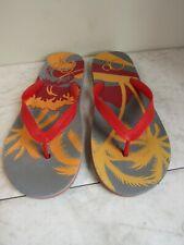 OP Ocean Pacific Hawaii Theme Flip Flop Sandal Men's Shoes Size 11-12