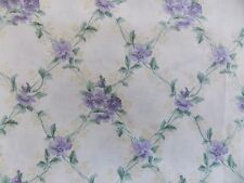 WtW Fabric Floral Flower Garden Shabby Cottage Concord Lattice Chintz  Quilt