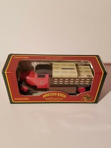 Anheuser-Busch 1930 Delivery Truck Die-Cast Metal Bank by Ertl Collectibles  NIB
