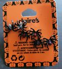 3 PAIRS OF SPIDER STUD EARRINGS FROM CLAIRES 🇬🇧 UK SELLER 🎃 HALLOWEEN GOTHIC