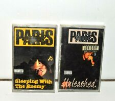 Paris Rap Cassette Tape Lot 2 Black Panther of Rap Unleashed Sleeping With Enemy