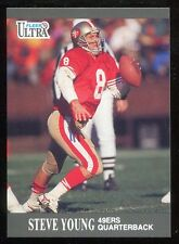 1991 Fleer Ultra Steve Young #256 San Francisco 49ers