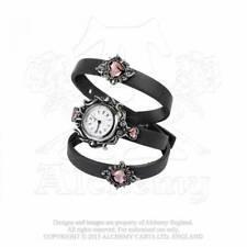 Alchemy Gothic Heartfelt Bracelet Leather Wrist Watch - Gothic,Goth