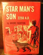 Star Man's Son, 2250 A.D by Andre Norton (1952) HC.DJ. Very Good Cond. Signed BP