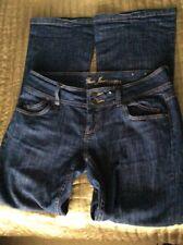 Ladies GUESS Riviera Flared Jeans Blue Denim size30 34x34L (UK14)