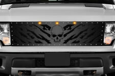 Steel Aftermarket Grille Kit for 2010-2014 Ford F-150 Raptor SVT Grill NIGHTMARE
