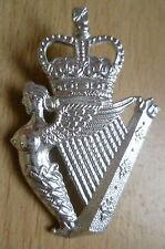 STAYBRITE BADGE- THE ROYAL IRISH RANGERS BADGE (A/A 100%ORG)