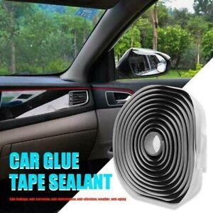 4M Car Headlight Windshield Reseal Butyl Rubber Glue Retrofit Sealant Strip Tape