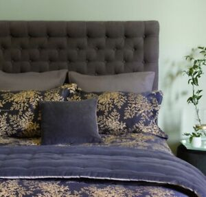 Christy Charleston Ink Kingsize Bed Duvet Cover Set