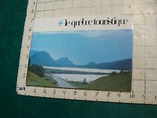 Vintage Brochure: le quebec touristique; 1972; 68pgs