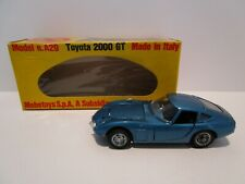 Vintage - 1/43 Mebetoys - Toyota 2000 GT - A29 - Blue - Box - Made in Italy