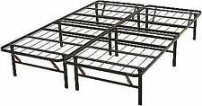 AmazonBasics AMZ-14BIBF-F Foldable Metal Platform Bed Frame Full Size - Black