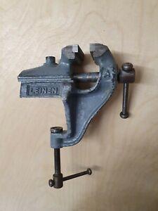 Leinen, Schraubstock, Backenbreite 60mm, Parallel-Schraubstock