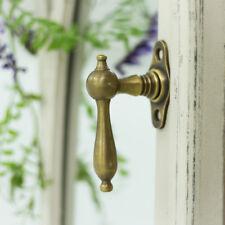 Antik Messing Alter Nickel Fenster Griff Fenstergriff Art Deco Fensterolive F61N